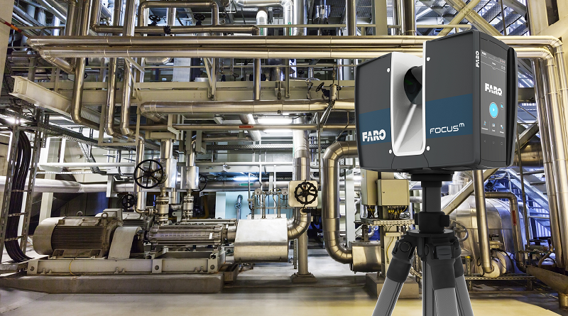 FARO Focus M70 Scanning of pipes